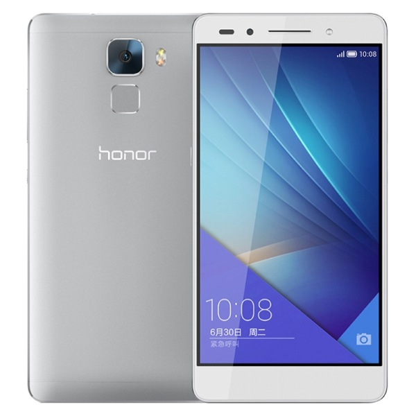 HUAWEI Honor 7 4G Smartphone 3GB 16GB 64bit Octa Core 5.2 Inch FHD 20.0MP Camera Silver