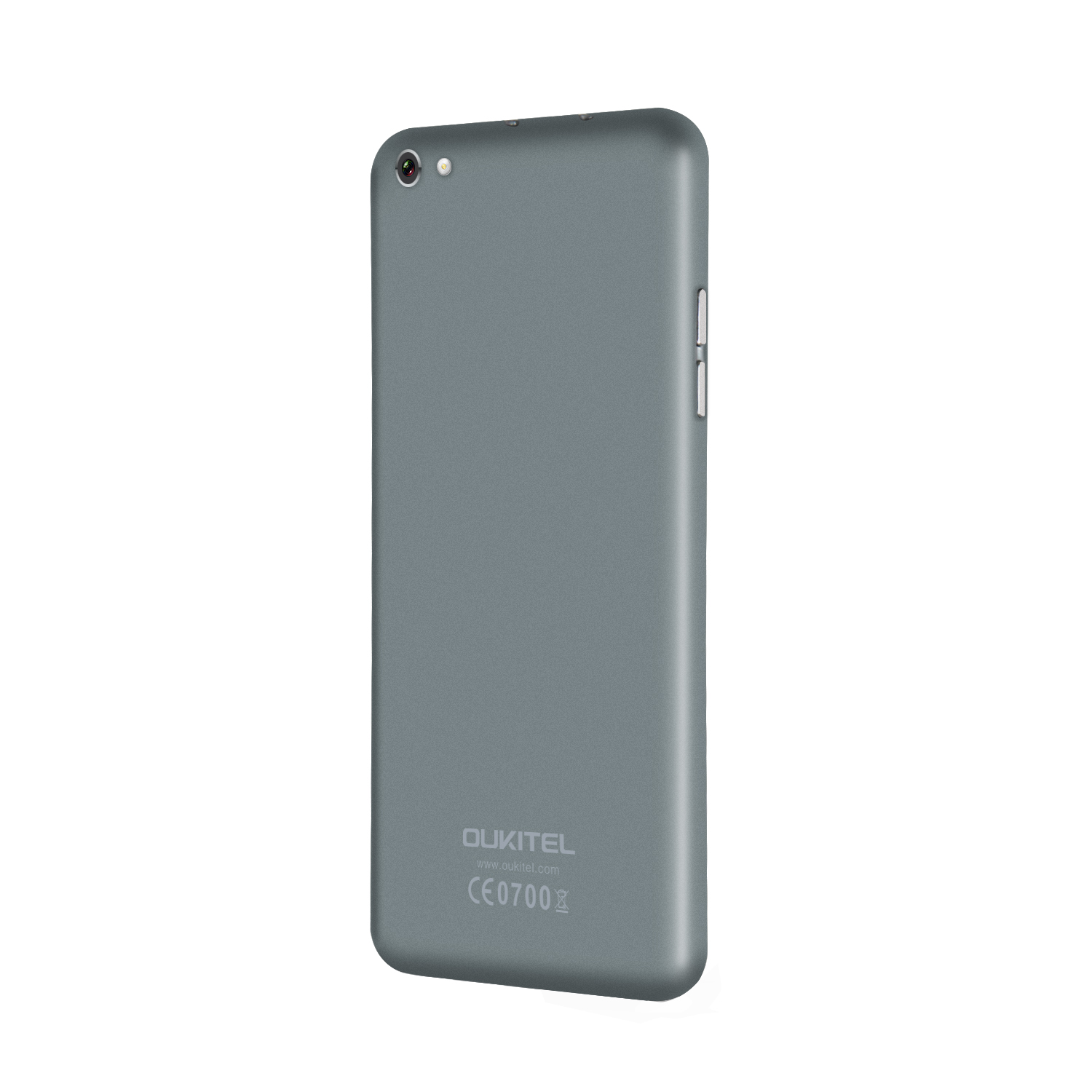 OUKITEL U7 Smartphone 5.5 Inch IPS Screen MTK6582 Quad Core 1GB 8GB Android 4.4 Gray