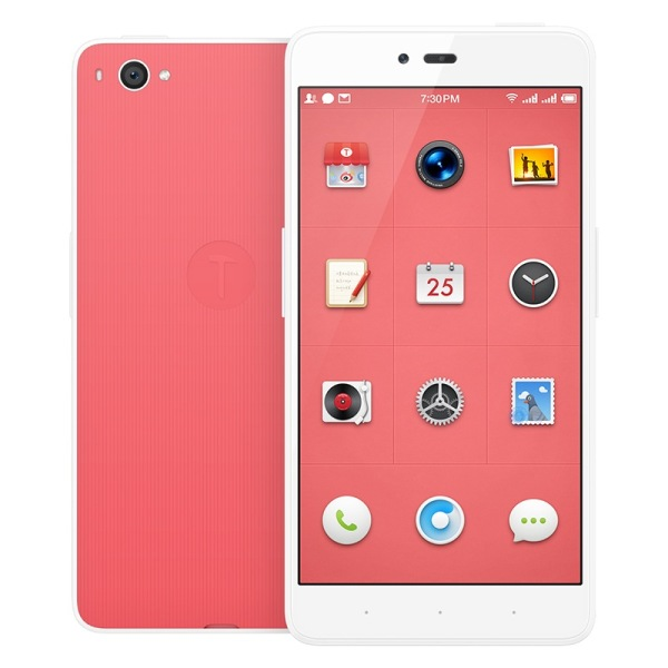 Smartisan Nuts U1 Smartphone Snapdragon 615 Octa Core 5.5 Inch FHD Gorilla Glass Pink