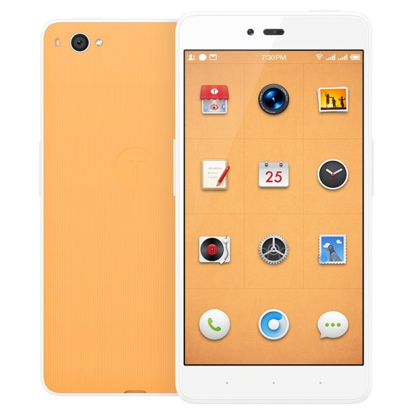 Smartisan Nuts U1 Smartphone Snapdragon 615 Octa Core 5.5 Inch FHD Gorilla Glass Orange