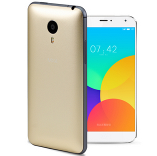 MEIZU MX4 Smartphone 4G MTK6595 5.36inch Gorilla Glass Screen 2GB 32GB Flyme 4.0 Golden
