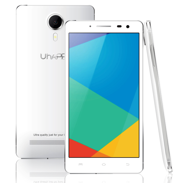 Uhappy UP620 Smartphone Android 4.4 MTK6592 Octa Core 1GB 8GB 5.5 Inch OTG White