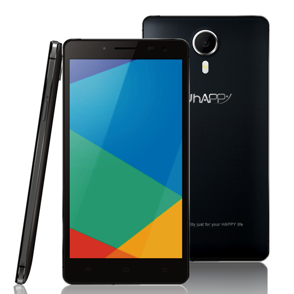 Uhappy UP620 Smartphone Android 4.4 MTK6592 Octa Core 1GB 8GB 5.5 Inch OTG Black
