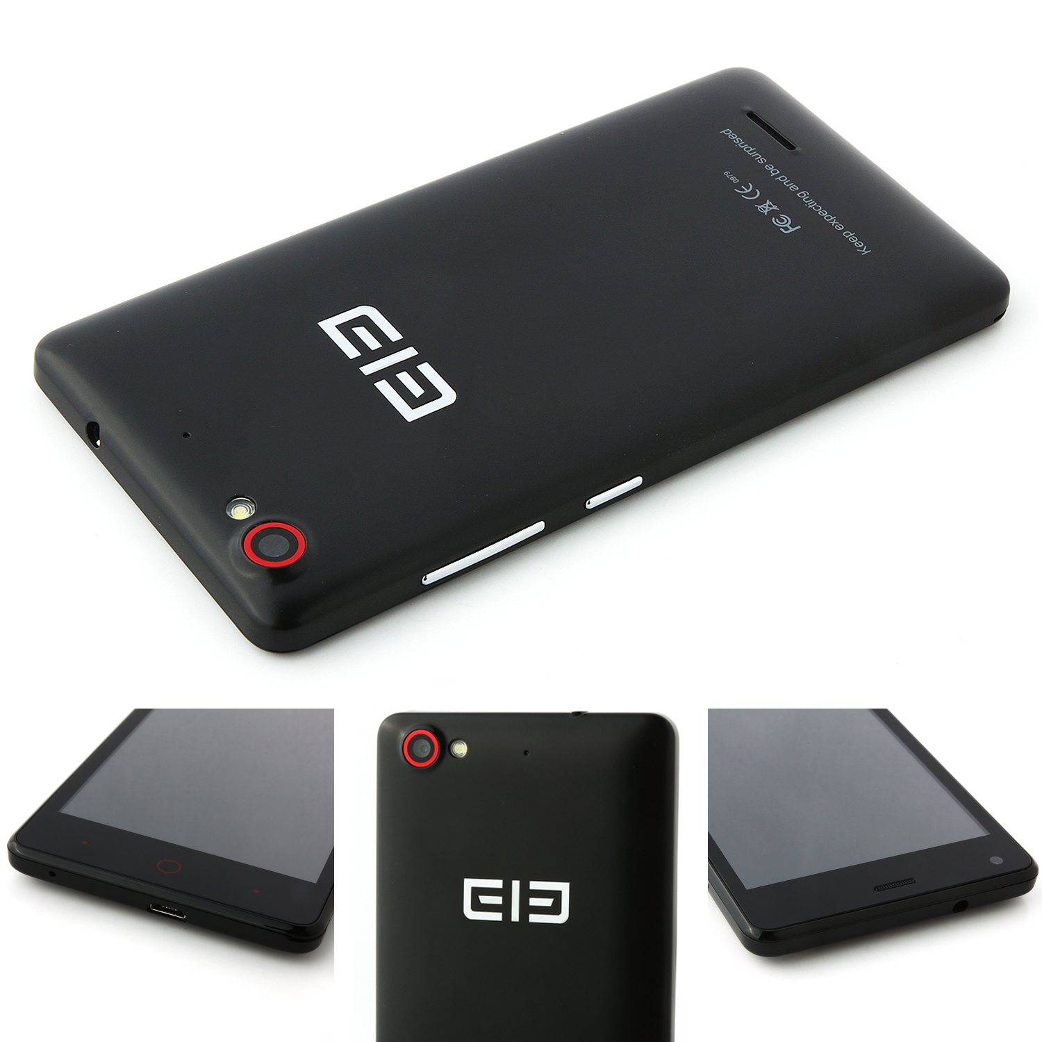 Elephone G1 Smartphone Android 4.4 MTK6582 Quad Core 4GB 4.5 Inch Black