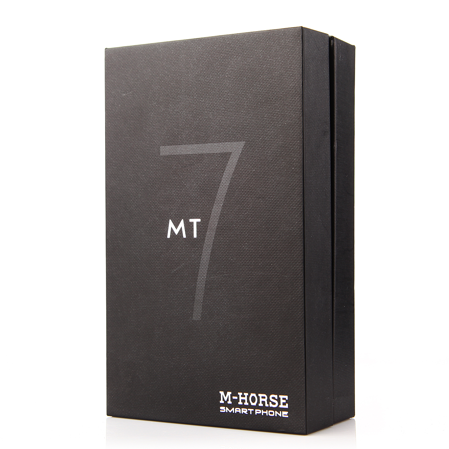 M-HORSE Mate7 Smartphone Android 4.4 512MB 4GB 5.5 Inch QHD Screen Smart Wake Black