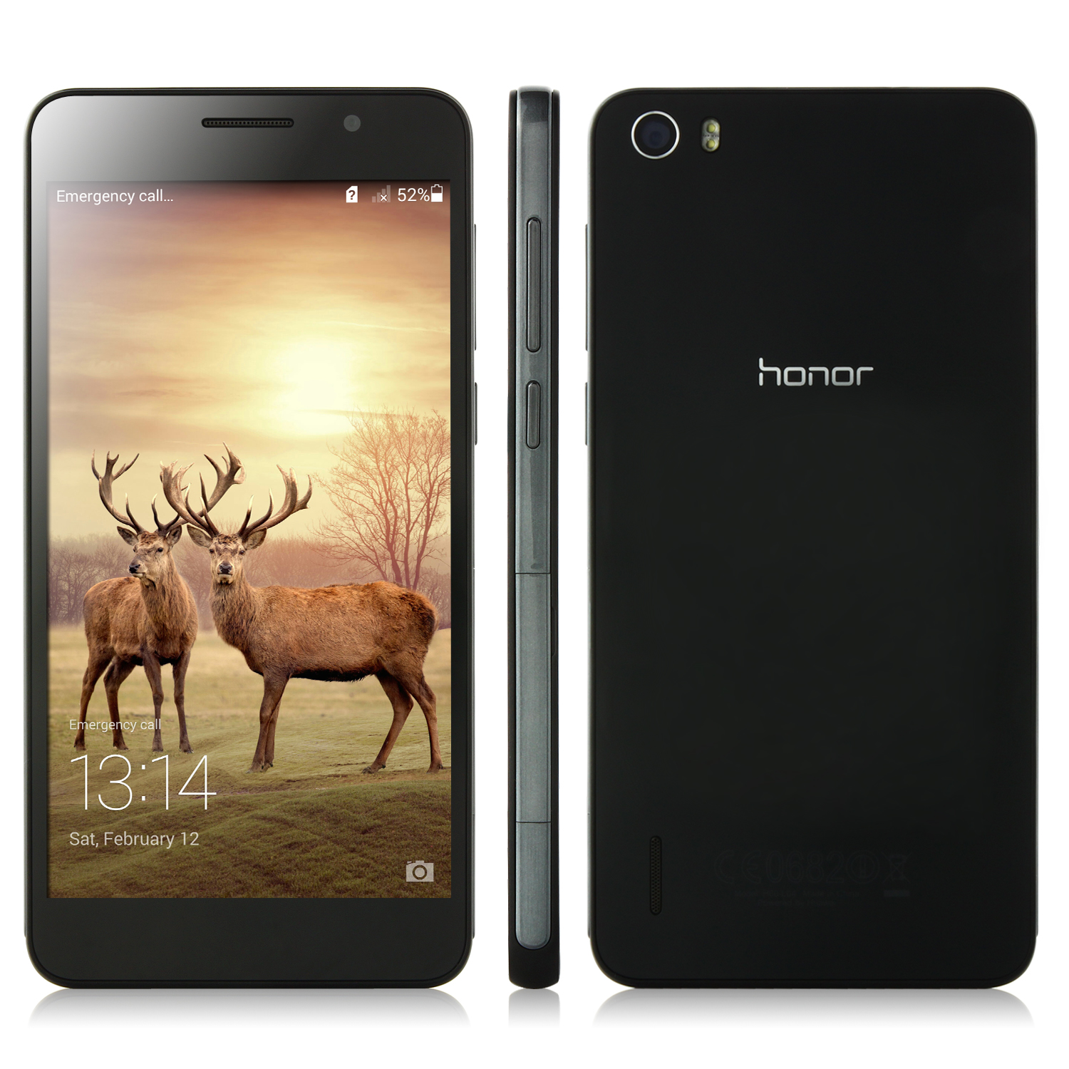 HUAWEI Honor 6 Smartphone L-04 4G LTE Hisilicon Octa Core 3GB 16GB 5.0 Inch FHD Screen