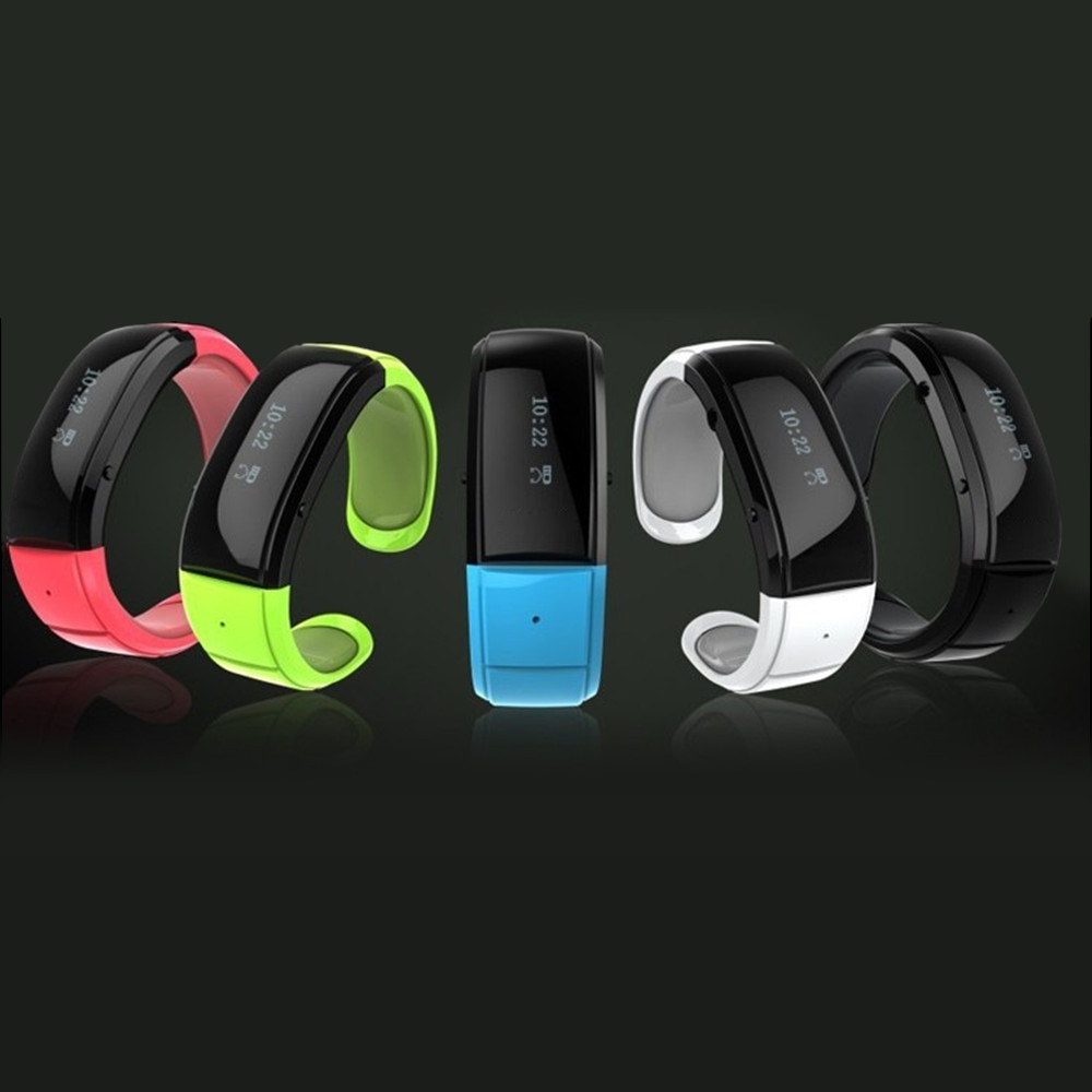 HX-002 LCD Smart Bluetooth Bracelet Watch for Andriod OS Mobile Phone 3 Colors