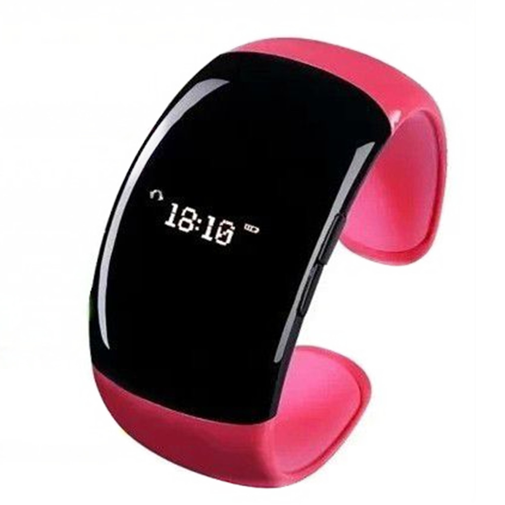 HX-001 Stylish LCD Smart Bluetooth Bracelet Watch for Andriod OS Mobile Phone 4 Colors