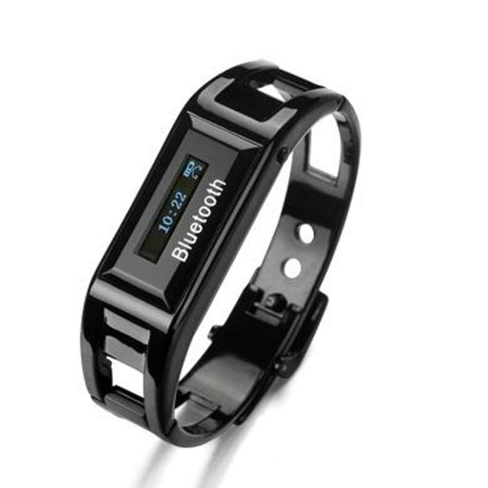 BW10 Fashion Stainless Bracelet Smart Bluetooth Watch for Mobile Phone 2 Colors