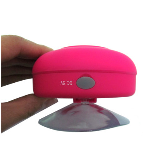 Portable Waterproof Stereo Wireless Bluetooth Speaker Handsfree with Suction Cup Rose