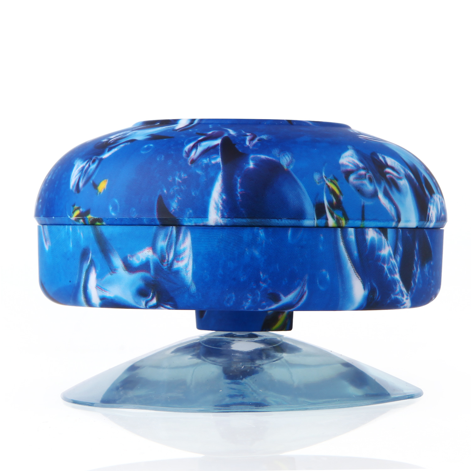 Mini Waterproof Stereo Wireless Bluetooth Speaker Handsfree with Suction Cup Blue Ocean