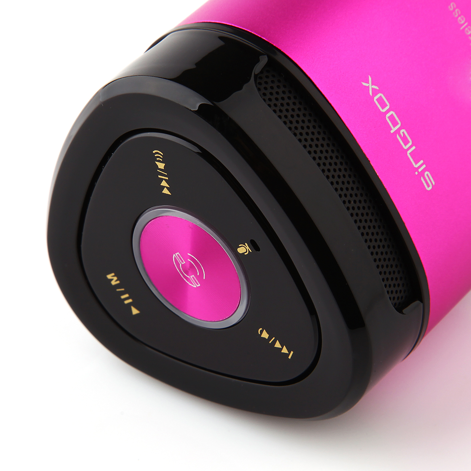 Singbox T6 Portable Wireless Bluetooth Stereo Mini AUX MP3 Speaker TF Card Slot Rose