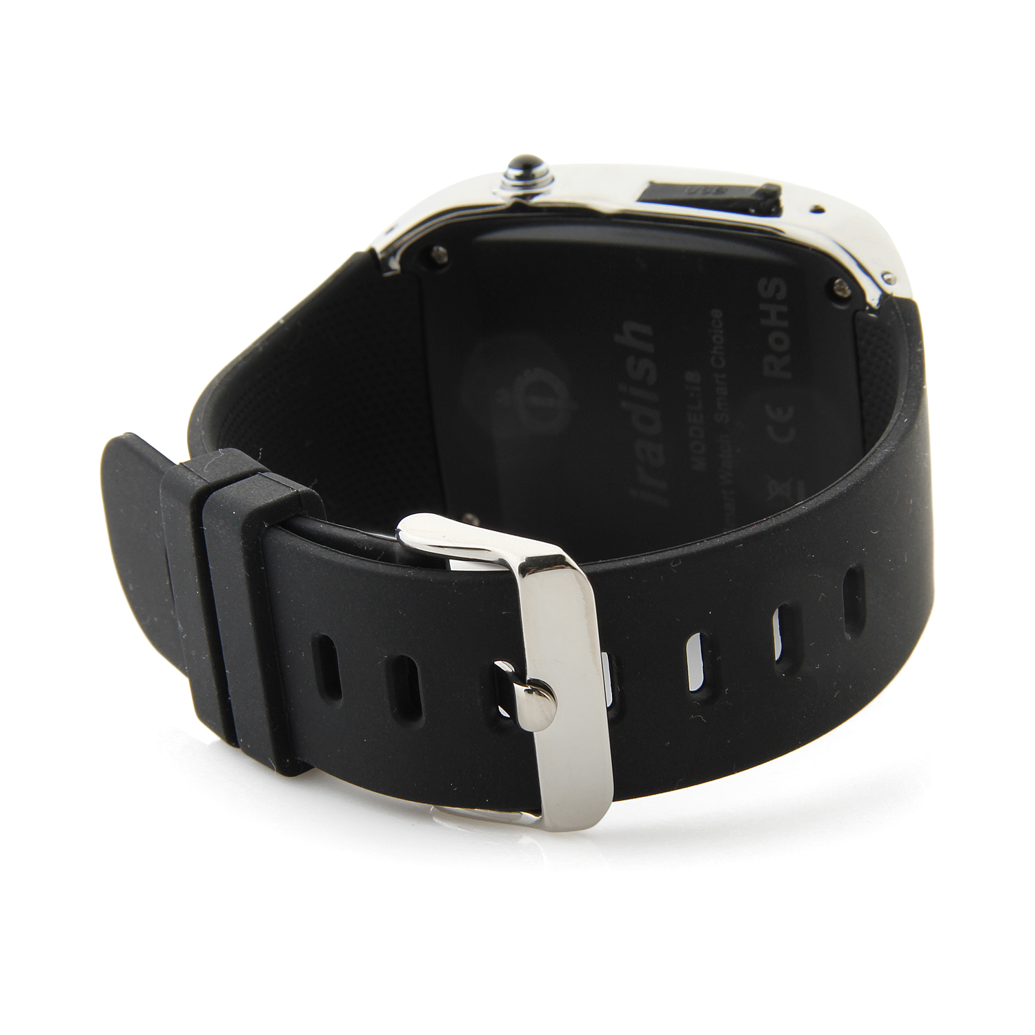 Iradish I8 Smart Bluetooth Watch 1.54 Inch for Android Devices & iPhone Black&Silver