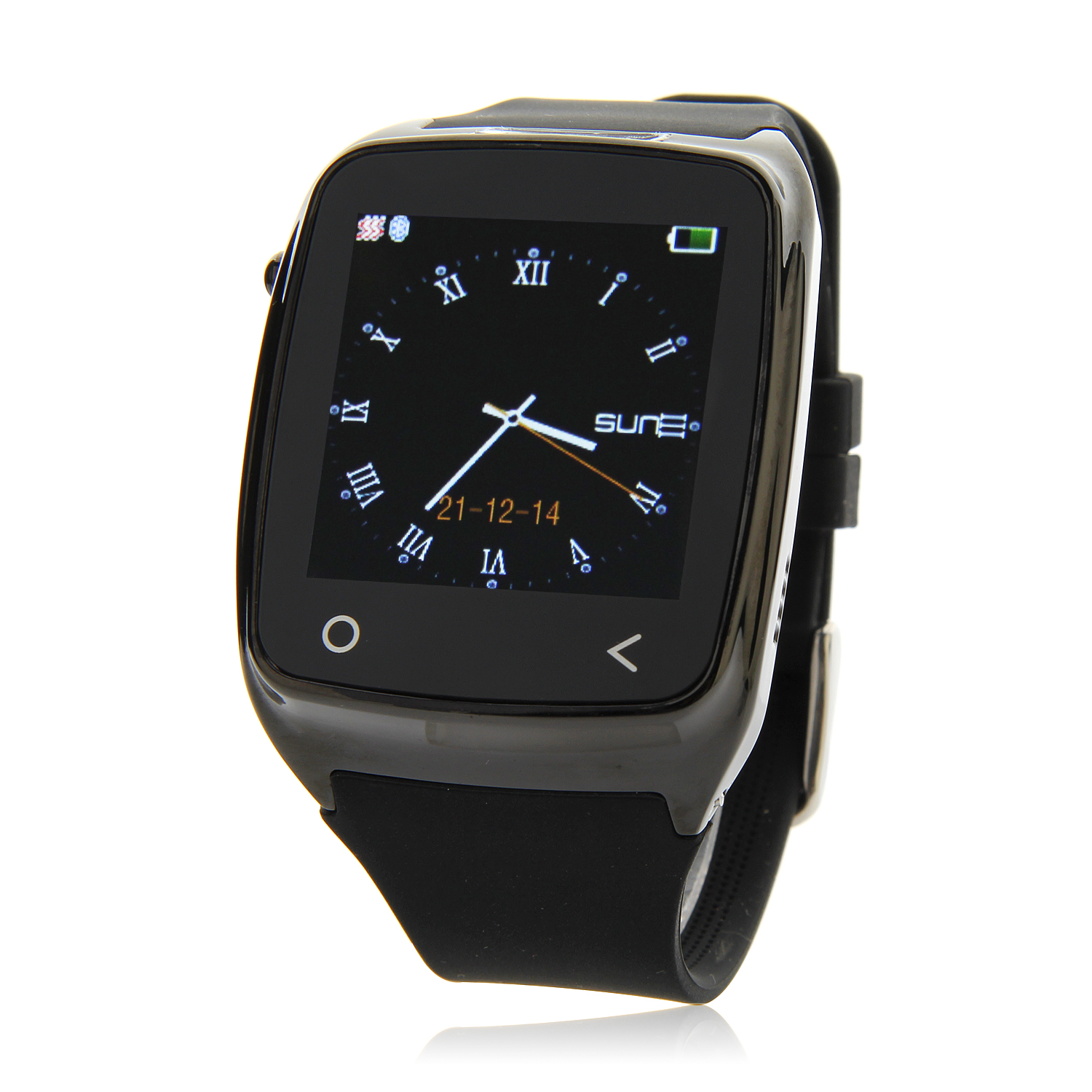 Iradish I8 Smart Bluetooth Watch 1.54 Inch for Android Devices & iPhone Black