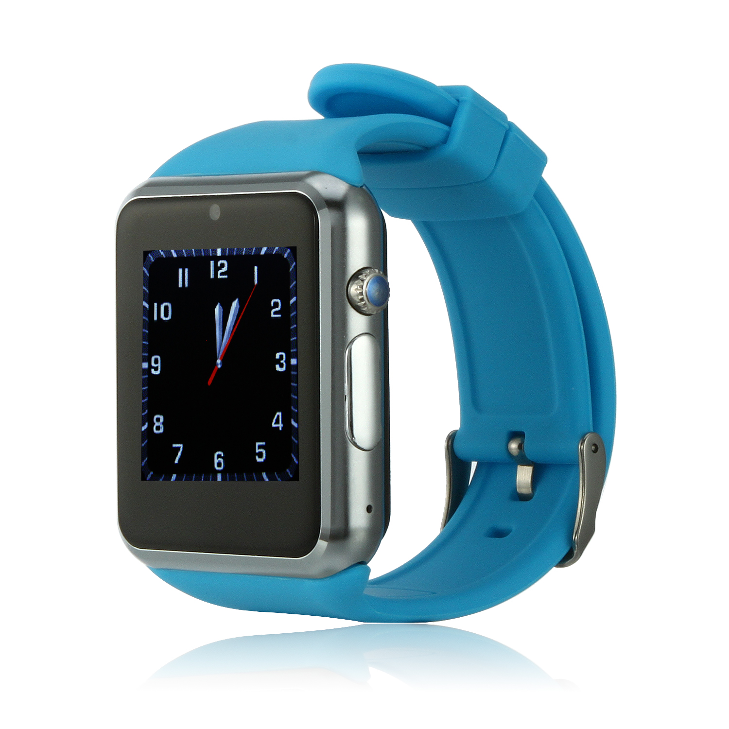 ZGPAX S79 Smart Watch Phone 1.54 Inch Touch Screen Bluetooth Camera FM Blue