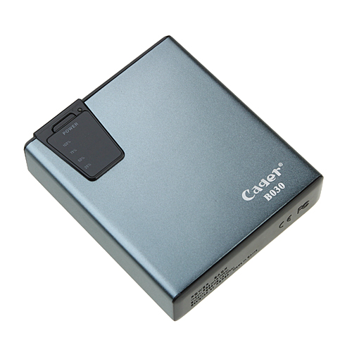Cager  B030-3 7500mAh Mobile Booster Card Reader Power Bank for iPhone iPad iPod PSP Player