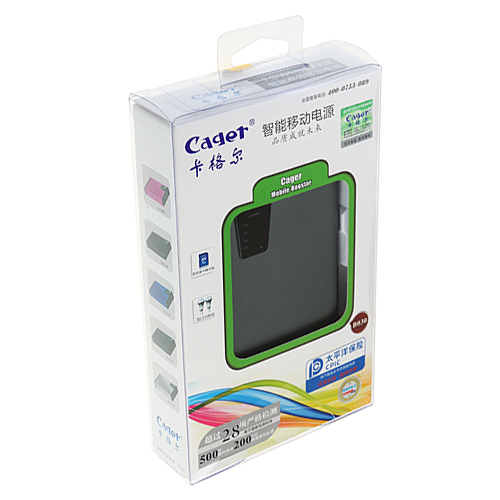 Cager B030-5 12500mAh Mobile Booster Card Reader Power Bank for iPhone iPad iPod PSP Player