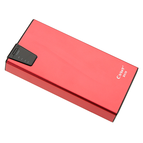 Cager B030-6 15000mAh Mobile Booster Card Reader Power Bank for iPhone iPad iPod PSP Player