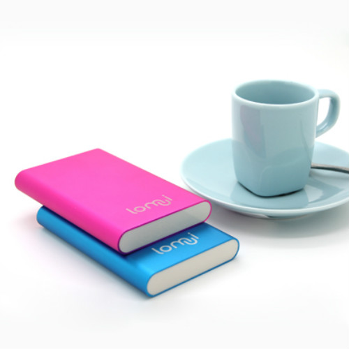 Fashion Lomui L301 3000mAh LED Lighting Power Bank for iPad iPod iPhone Mobile  2 Color
