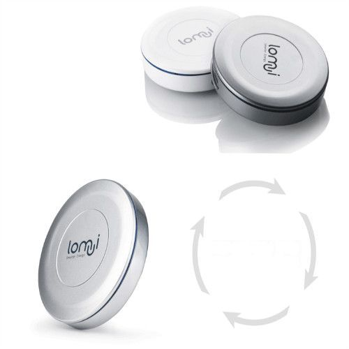 Lomui L441 4400mAh Circular Rotation Power Bank for Mobile Phone iPhone4 iPad 2 Color Random