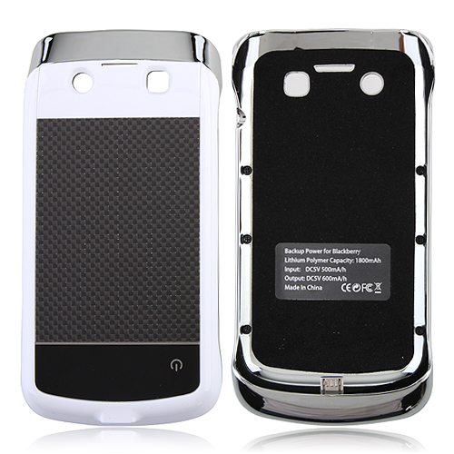 1800mAh Backup Power for BlackBerry 9790 Black&White