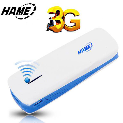 HAME A1 Broadband 3G WiFi Wireless Router Hotspot 1800mAh Mobile Power Bank