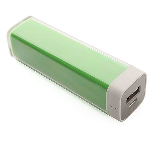 Fashion Portable 2200mAh Lipstick Style Mobile Power Bank for iPhone Mobile Phone