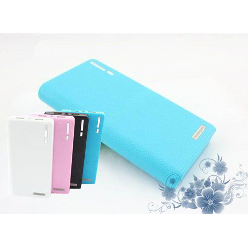 Fashion Wallet Pattern 12000mAh Mobile Power Bank for Smartphone Tablet PC