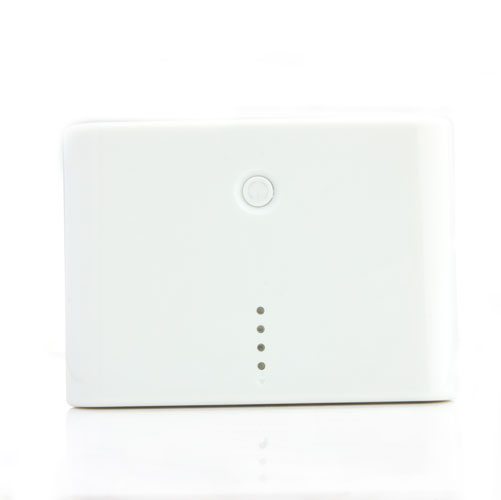 12000mAh Portable Mobile Power Bank White