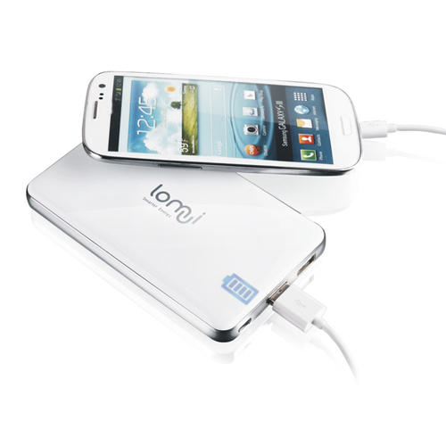 Lomui L882 8800mAh Dual USB Power Bank for Mobile Phone Tablet PC 3-Colors