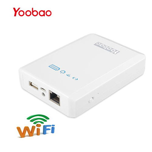 Yoobao YB-658 10400mAh WiFi Router + 3G + Power Bank White