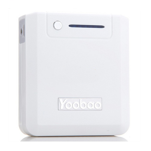 YooBao YB-635 Magic Box 6600mAh Mobile Power Bank for Mobile Phone White