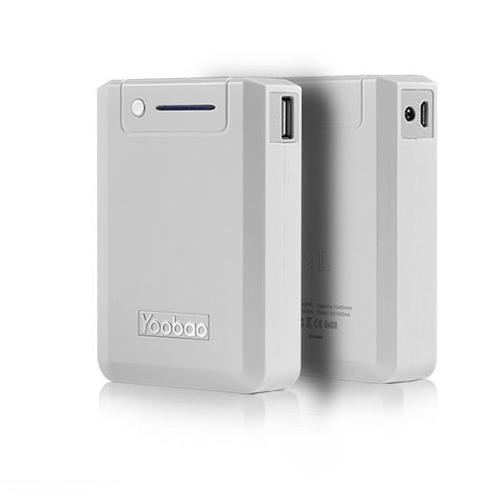 YooBao YB-645pro Magic Box 10400mAh Mobile Power Bank White