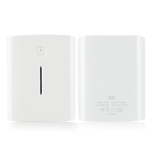 YooBao YB-626 Q-Master 5200mAh Mobile Power Bank White