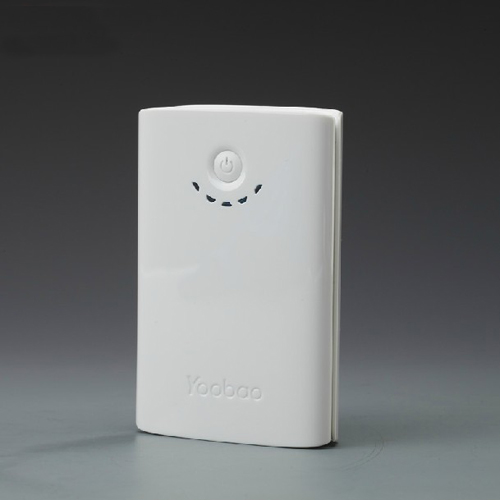 YooBao YB-636 Q-Master Dual-USB 7800mAh Mobile Power Bank White