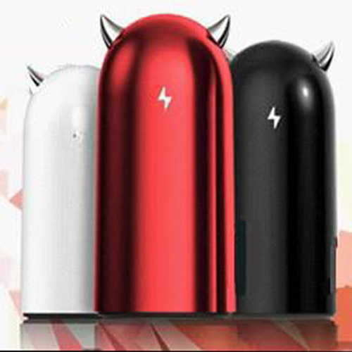 Emie S100 5200mAh Portable Universal Devil Volt Style Power Bank for iPhone Smartphones