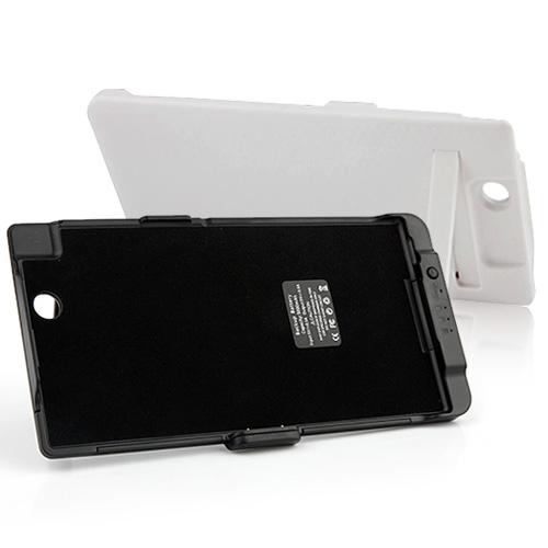 5000mAh External Battery Case Protective Case Power Pack For Sony Xperia Z Ultra XL39h 2 Colors
