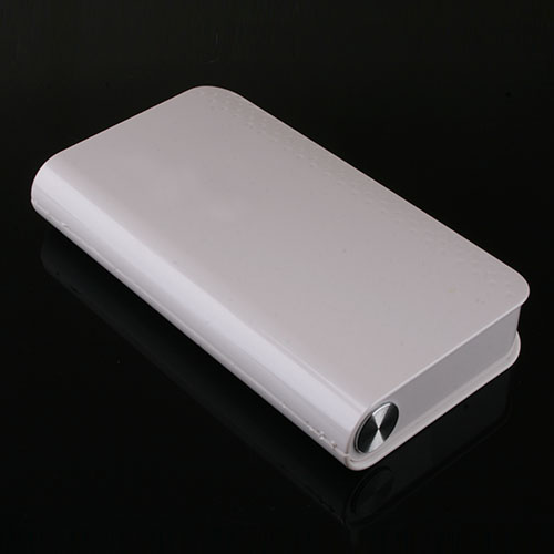 12000mAh Automobile Igniter Power Bank for Sedan iPhone iPad White