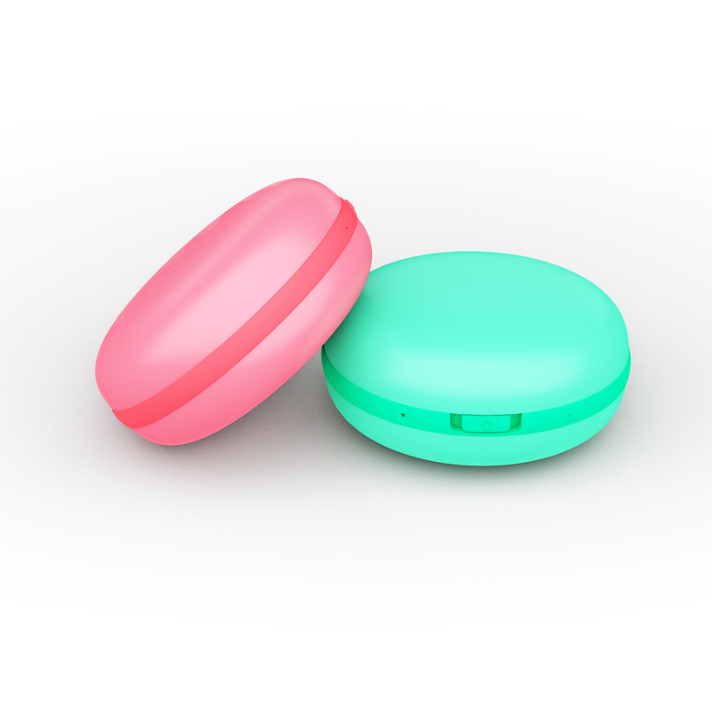 Fashion Macaron Style USB  Hand Warmer 3000mAh Power Bank Colour Random