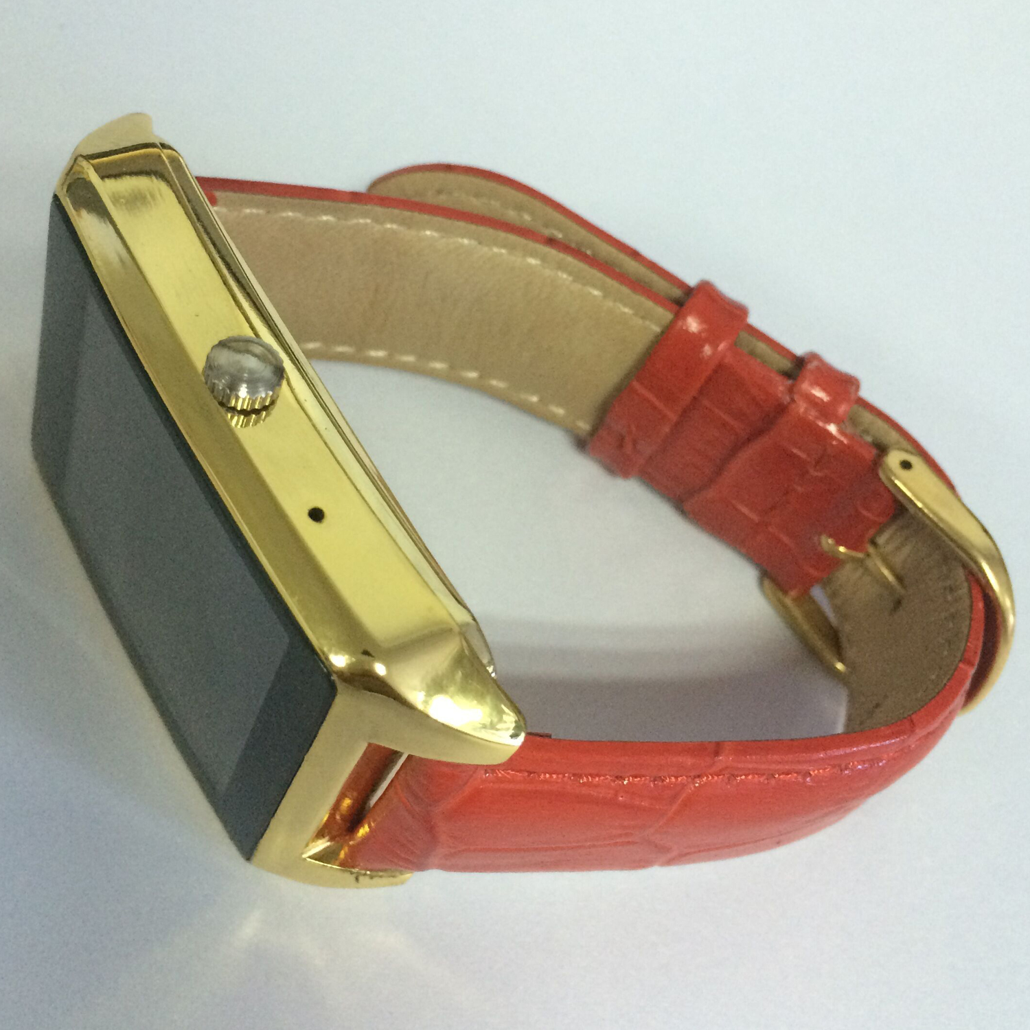 Atongm W013 Smart Bluetooth Watch Android 4.3 Waterproof 1.6 Inch for Android/IOS Gold