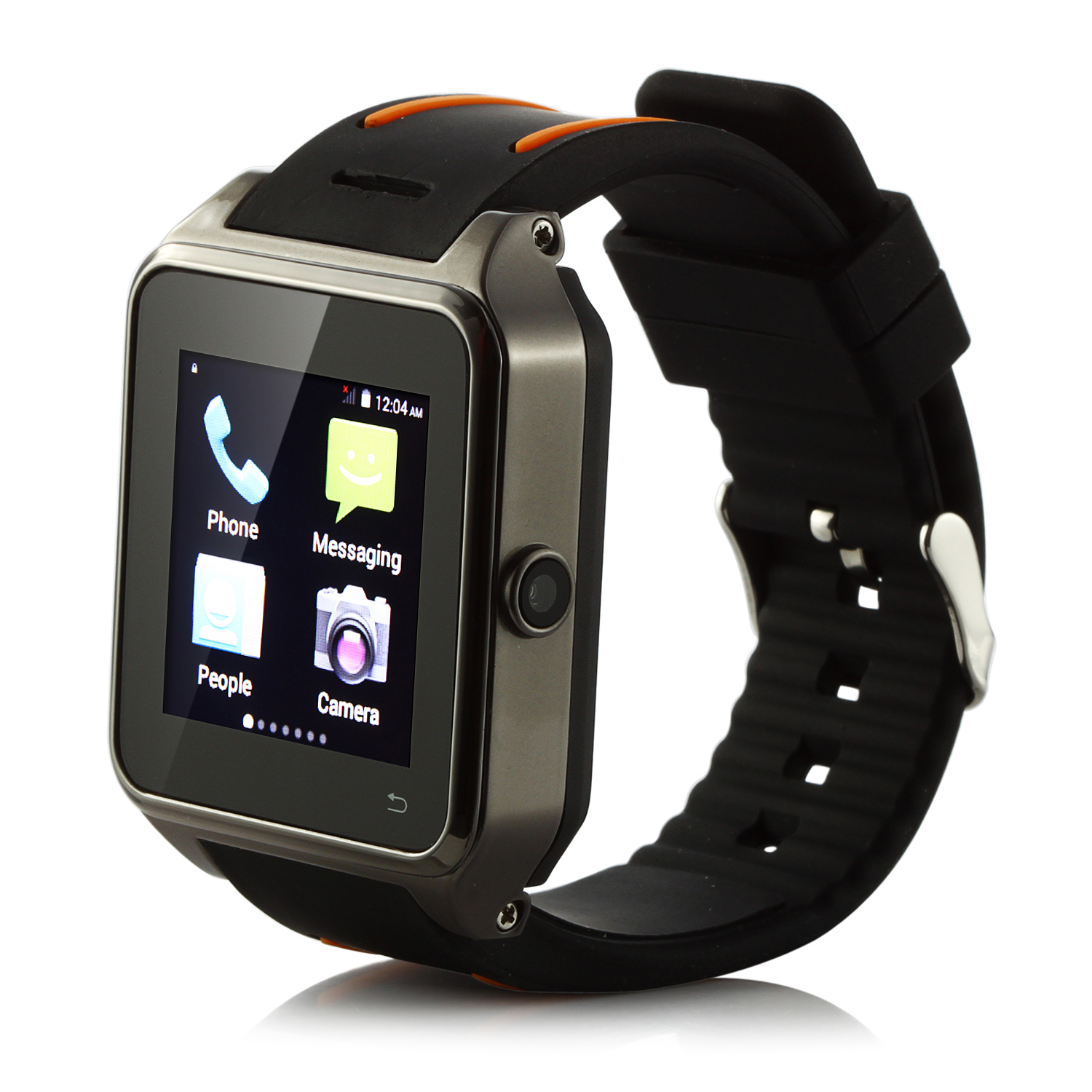 ZGPAX S82 Smart Watch Phone 1.54 Inch MTK6572W Dual Core Android 4.4 3G GPS Play Store