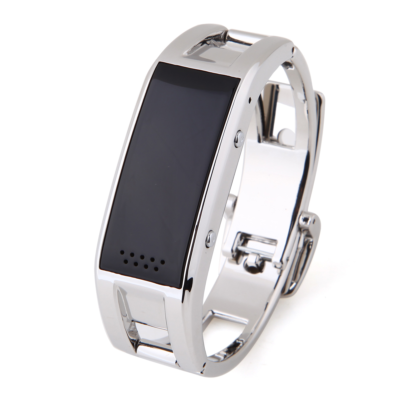 Elephone W1 Smart Bracelet Bluetooth Watch Pedometer Call Message Sync - Sliver