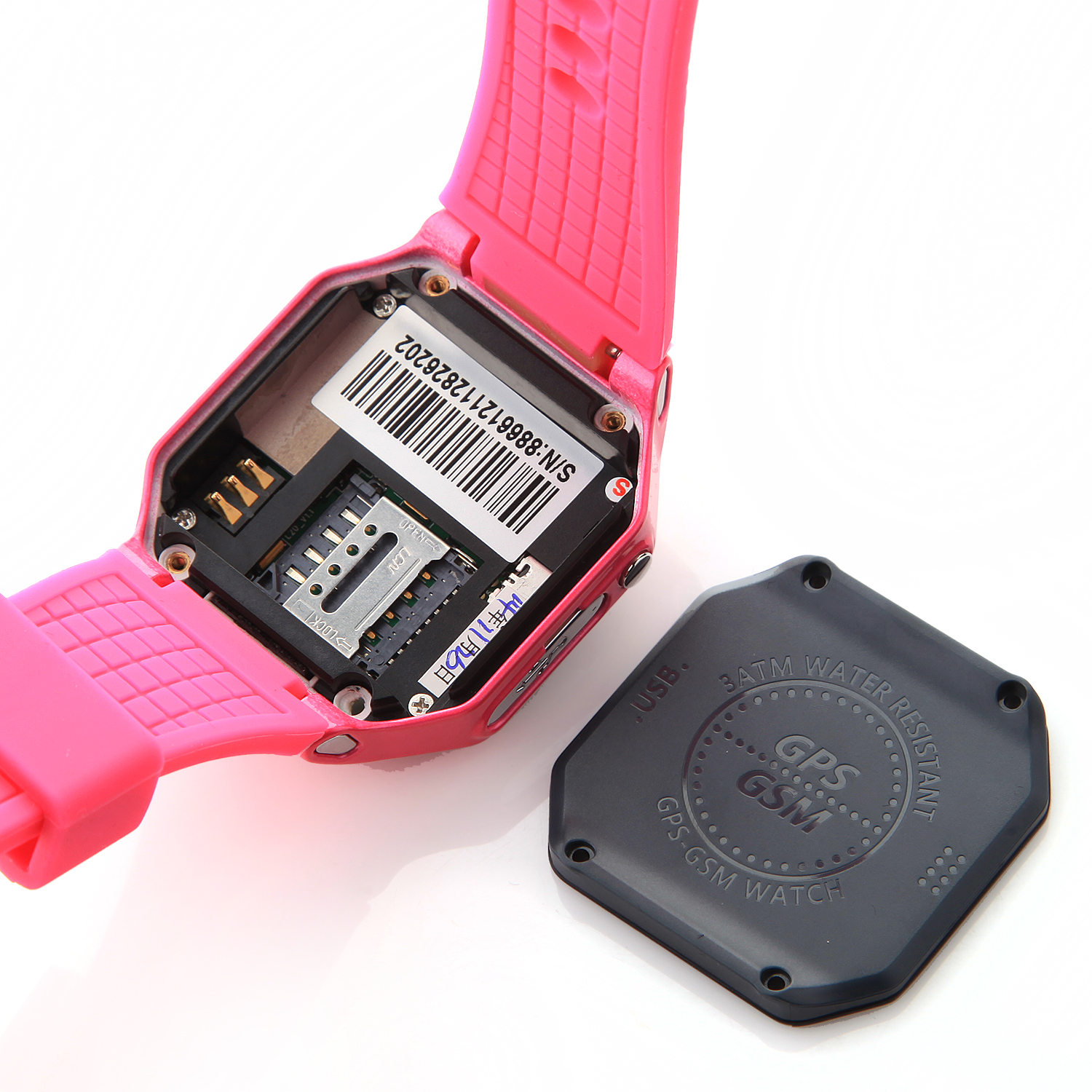 Kimiwatch L20 Children's Watch Phone Waterproof Positioning Monitoring USB SOS Button