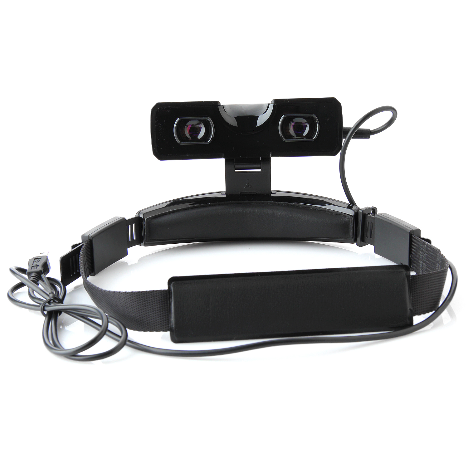 "27"" Virtual Screen Personal 2D/3D Viewer Headband Video Glasses Cinema 16:9 with AV-In"