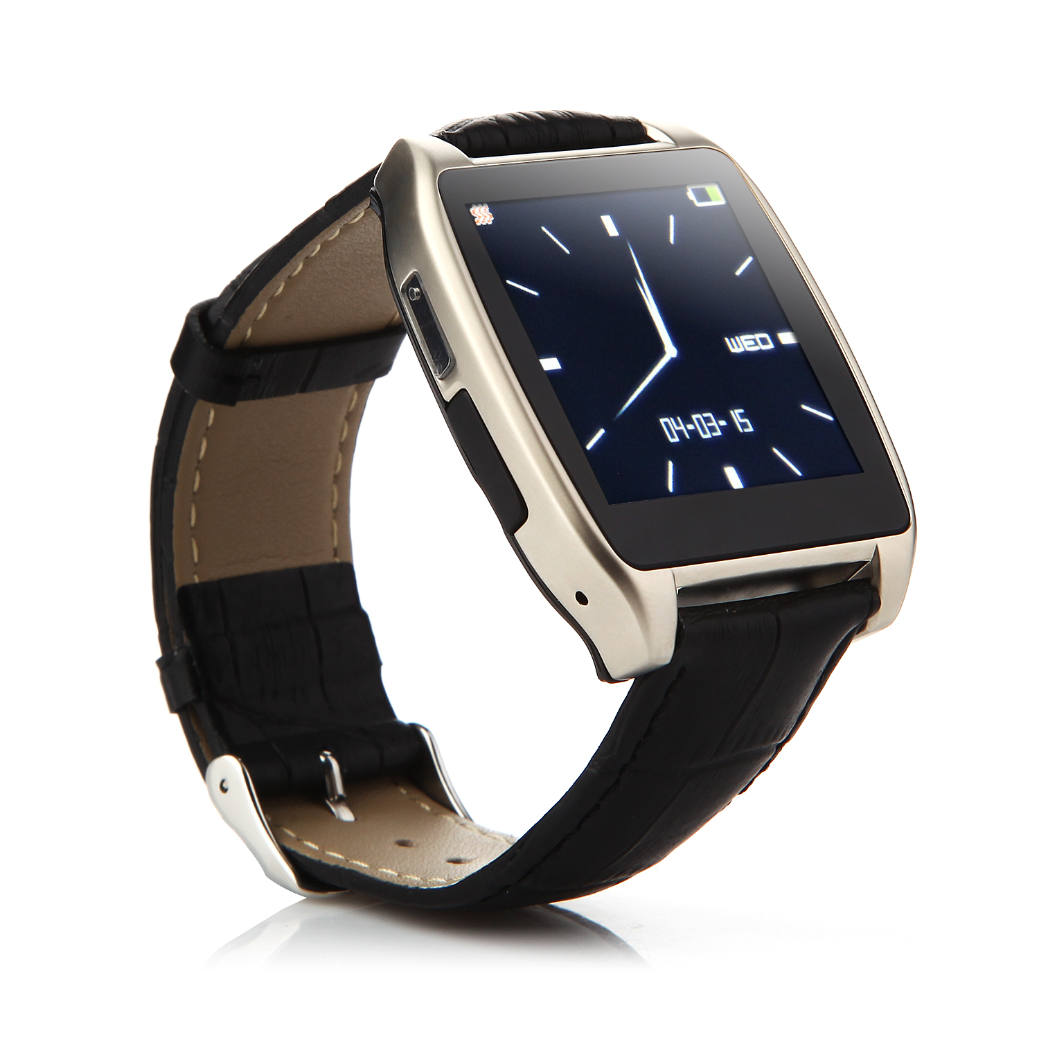 RWATCH R7 Bluetooth Smart Remote Control Watch for iOS Android Smartphones Champagne