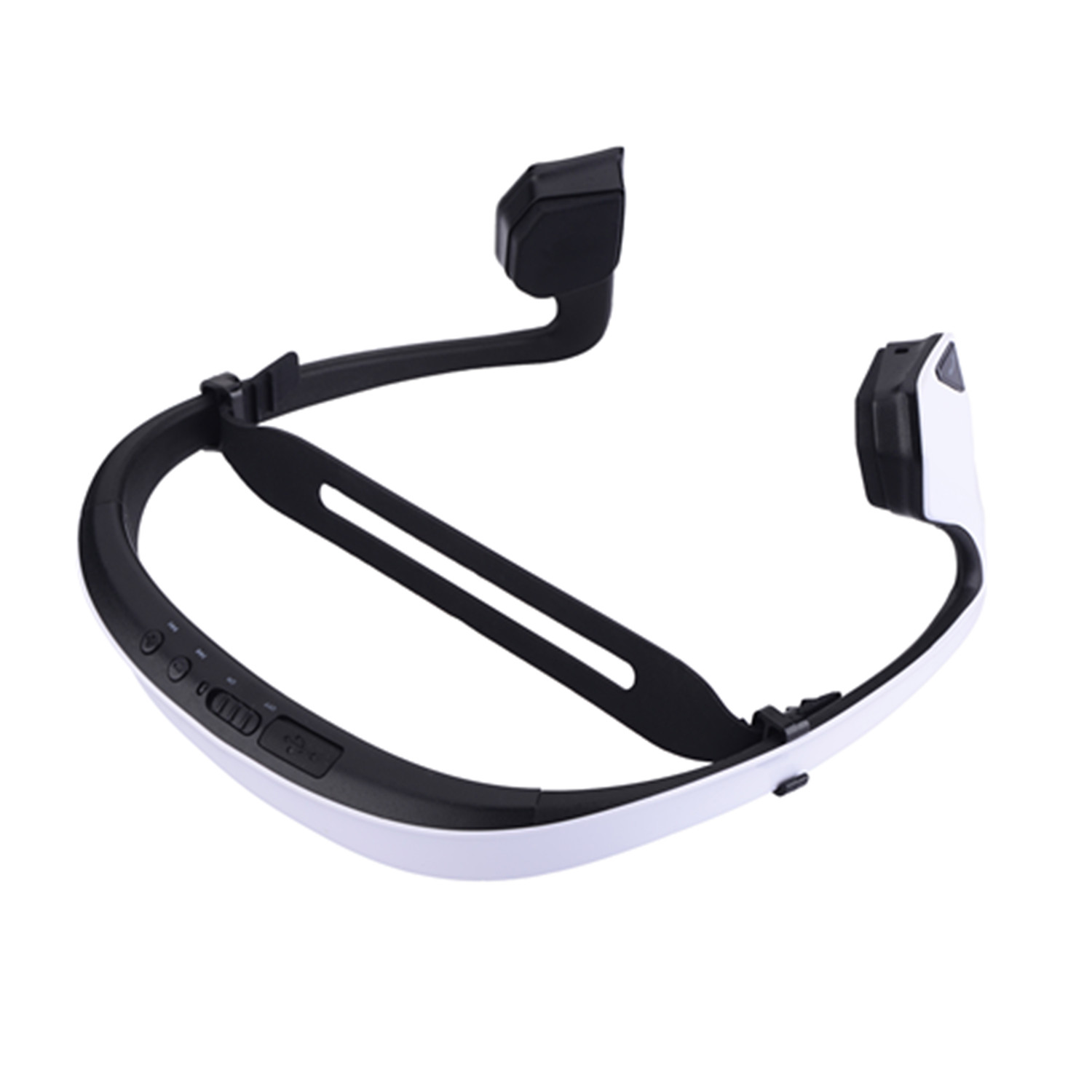 DIGICare DO Bone Conduction Headphone Wireless Bluetooth with NFC Call Function White