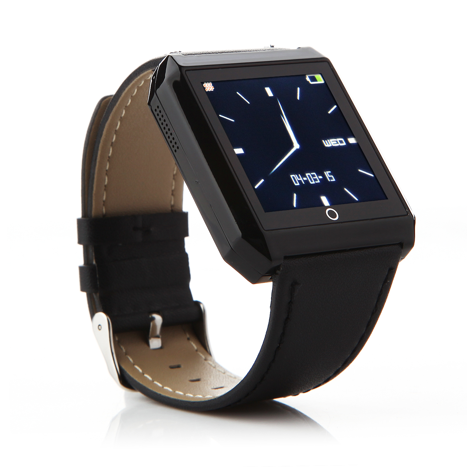 RWATCH R6S Bluetooth Smart Remote Control Watch for iOS Android Smartphones Black