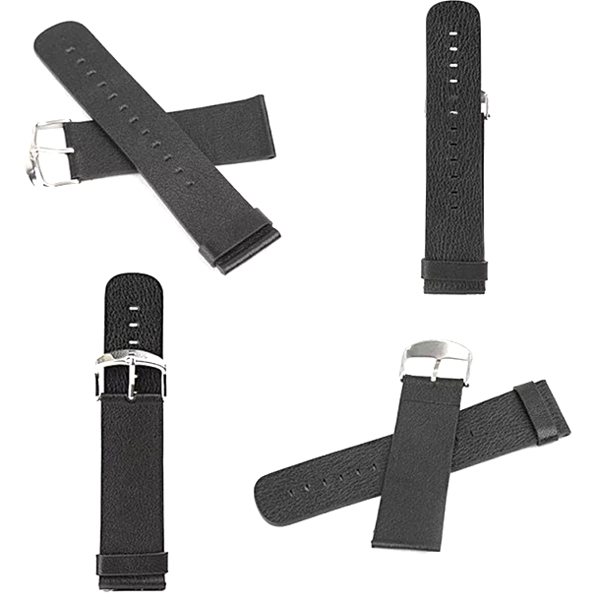 Baseus PU Leather Classic Buckle 38mm/42mm Watchband Strap for Apple Watch Black