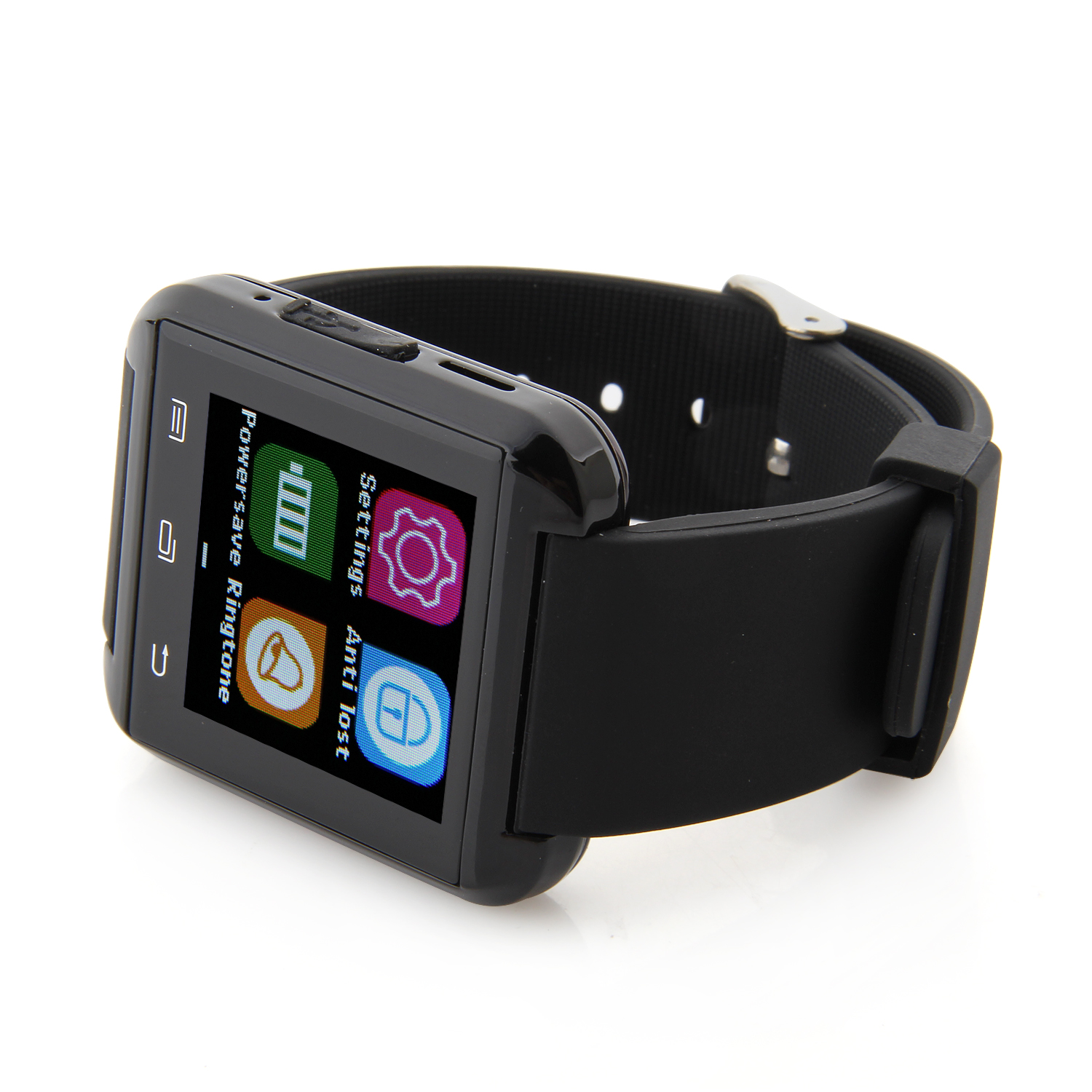 "U Watch U8 Plus Smart Bluetooth Watch 1.44"" Screen for iOS & Android Smartphones Black"