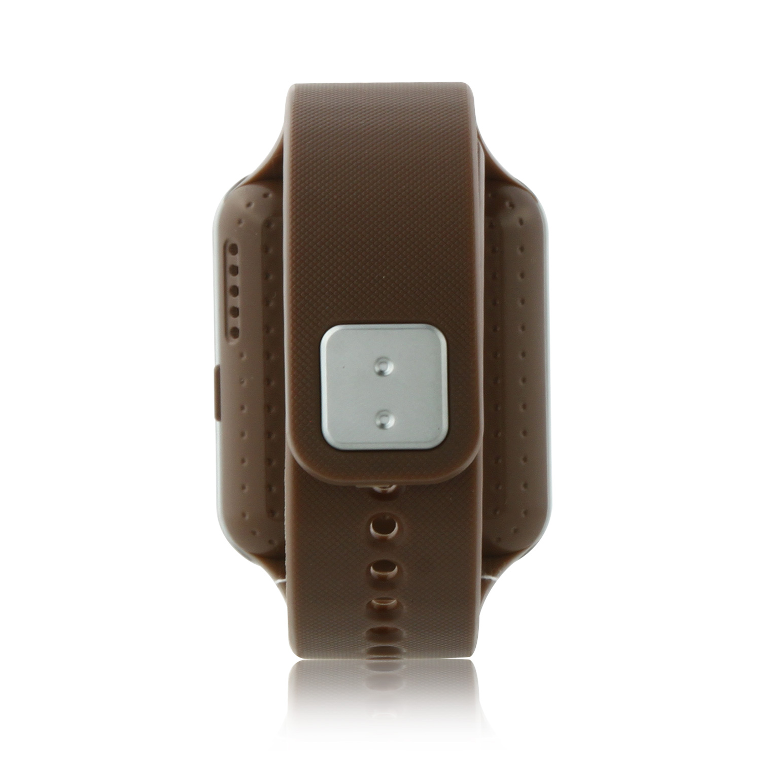 "MIFone W15 2.5D Sapphire Glass Smart Bluetooth Watch 1.5"" Screen TPSiV Safe Strap Brown"